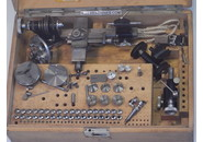 Verkauft: Andrä & Zwingenberger 8mm Uhrmacher Drehbank im Holzkiste