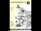 Hauser M1 Jig Borer Manual and Catalog Package  (EN) in PDF