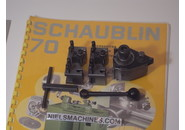 Sold: Schaublin 70 Accessories: Multifix Quick Change Toolpost and 2 Holders
