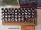 Emco L20 collet set complete 37 pieces