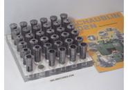 Schaublin W20 Spannzangen 0.5mm-18mm 35 Stück