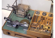 Bergeon 50 Lathe with Milling and Grinding Attachments