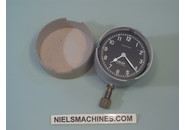 Jaeger Dashboard Car Clock 12v Suisse Transistor (NOS)