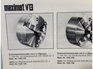 Emco Maximat V13 ø160mm Self-Centering 3-Jaw Chuck V2E 746