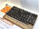 Schaublin F30 Collets 70 pieces 76-101