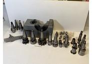 Verkauft: Friedrich Deckel ISO40 Zubehör mit S20x2