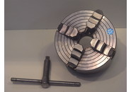 Sold: SCA Sweden 4-Jaw Chuck ø156 with Camlock D1-4 Fitting