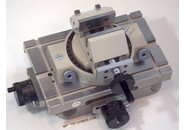 Sold: Mitutoyo Cross  Travel Table  218-001 with Mitutoyo Rotary Vise 218-003