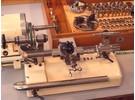 Verkauft: G. Boley 8mm Uhrmacher Drehbank mit FK Holzkiste und Flume F53 Motor