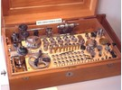 Sold: G. Boley 8mm Watchmaker Lathe with Boxed FK Set and Flume 53 Motor Stand