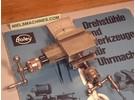 Sold: Boley Leinen Left Cross Slide or Compound Slide for 8mm Watchmaker Lathe