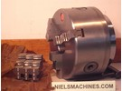 Sold: Original Klopfer 3-Jaw Precision chuck (NOS) With Weiler LZ 280 Backplate