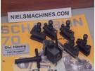 Verkauft: Schaublin 70 Tripan 11 Schnellwechselstahlhalter mit 5 Halter und Schlüssel