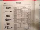 Verkauft: Friedrich Deckel Spannzangen Satz mit Kegelshaft Normkegel 40 für Deckel FP2