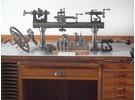 Verkauft: Lorch Schmidt LL 10mm Uhrmacher Drehbank 1900-1920