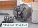 Emco Sold: Emco Compact 5 Self-Centering 4-Jaw Chuck