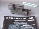 Schaublin Verkauft: Schaublin 102 Hinterer Stahlhalteruntersatz längs und quer verstellbar