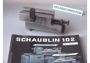 Schaublin Sold: Schaublin 102 Rear Support Adjustable Longitudinally and Transversely