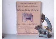 Schaublin Verkauft: Schaublin 102 VM or Schaublin 102 Lünette