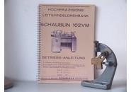 Schaublin Sold: Schaublin 102 VM Travelling Steady