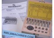 Bergeon Verkauft: Bergeon 2776 Kleines Sortiment von Schneideisen und Gewindebohrern 0.40 - 1.20mm Komplett