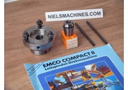 Emco Sold: Emco Compact 8 ESX-25 Collet Holder and 9-10mm Collet