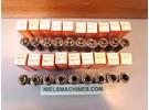 Sold: Schaublin 70 F12 collets ø1-10mm 19 pieces