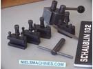 Schaublin Sold: Schaublin 102 Tripan 111 Quick change tool post set