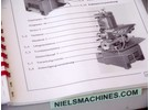 Schaublin 13 Maintenance Instruction (German)