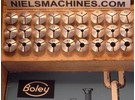 Sold: G. Boley ø8mm Watchmaker's Collet Set 27 pieces