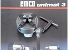 Verkauft: Emco Unimat 3 Drehbank 4-Backenfutter