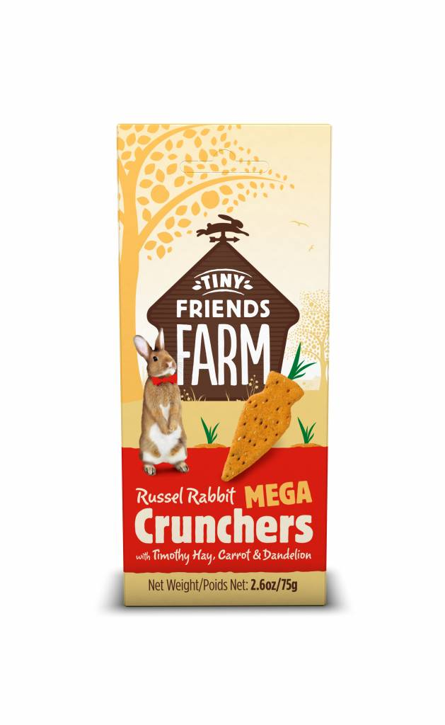 Supreme Russel Rabbit MEGA Crunchers Karotte