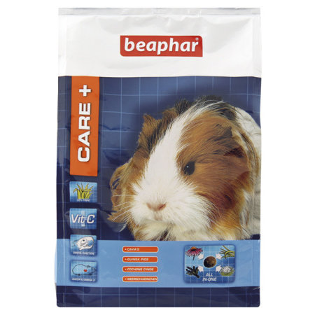 Beaphar Pflege + Meerschweinchen 1,5 kg Meerschweinchenfutter