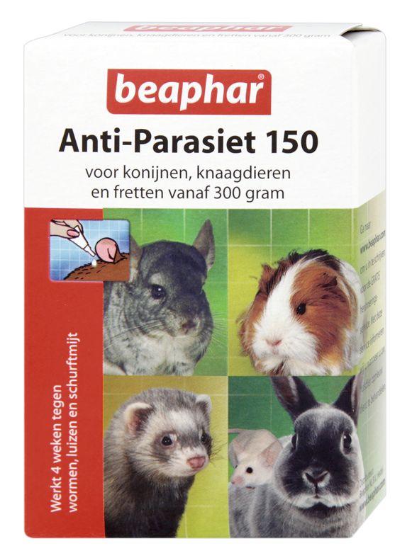 Beaphar Anti-parasiet 150 ml voor konijnen, knaagdieren en fretten vanaf 300 gram