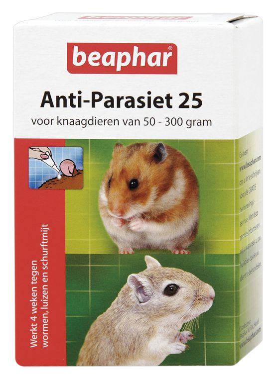 Beaphar Diagnosis Anti-Parasite 25 ml for rodents of 50-300 grams
