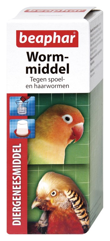 Beaphar Worm Vogel Medium / Nager 100 ml