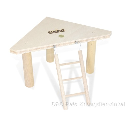 Elmato Rodent Corner Tray with Staircase