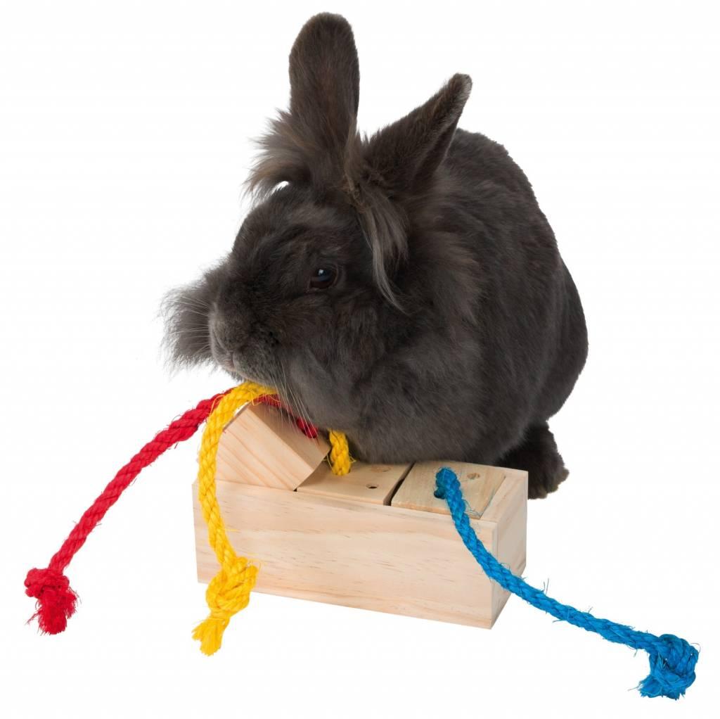 konijnen blokken spel
