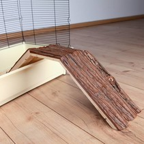 Holzbrücke mit Rinde 63 cm