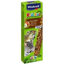 Maus, gerbil, Zwerghamster Kracker Millet & Apfel