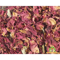 Red rose petals 100 grams