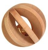 Trixie Holz Lamellabal mit Glocke 6 cm