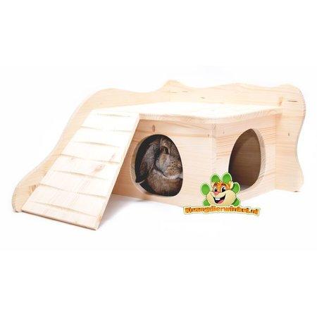 Elmato Rodent house Sevilla Blank 39 cm
