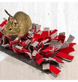Bunny Nature Nature Snuffelmat Vilt Rood Grijs 28 cm