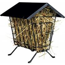 Metal hay rack Standing with Roof 20 cm