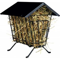 Metal hay rack Standing with Roof 20 cm
