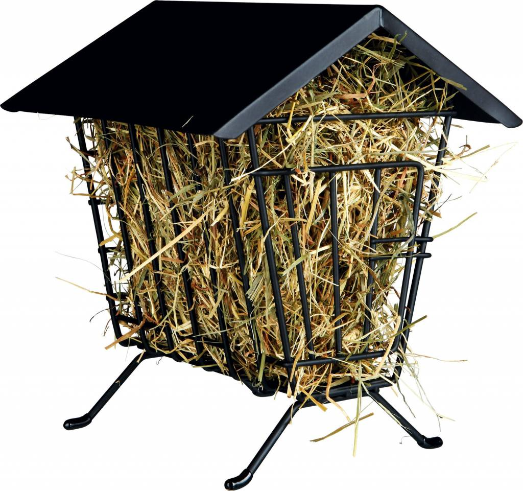 Trixie Metal hay rack Standing with Roof 20 cm