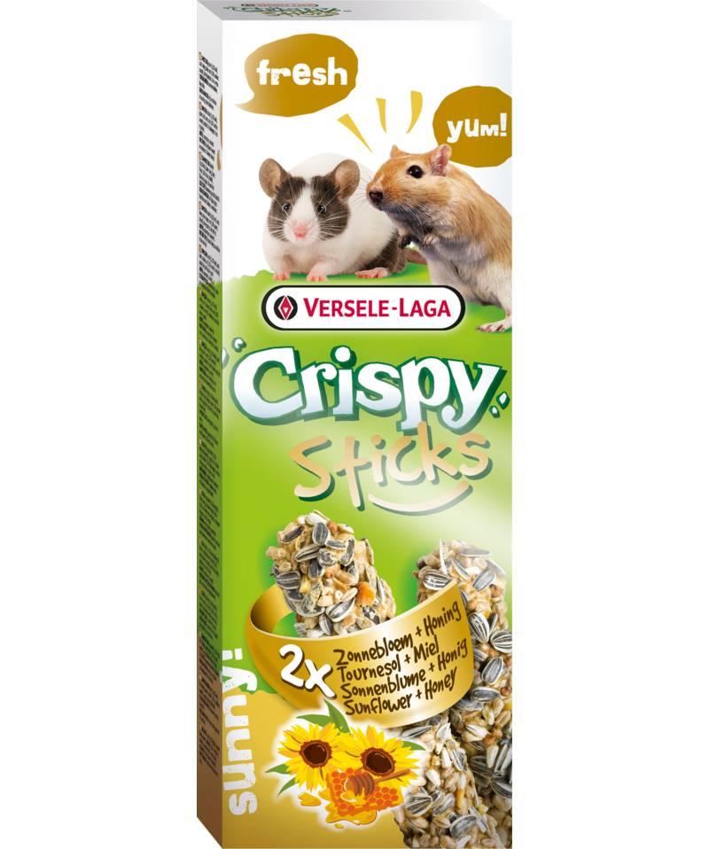 Versele-Laga Crispy Sticks Gerbil & Muis Zonnebloem