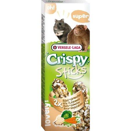 Versele-Laga Crispy Sticks Hamster & Rat Rijst & Groenten