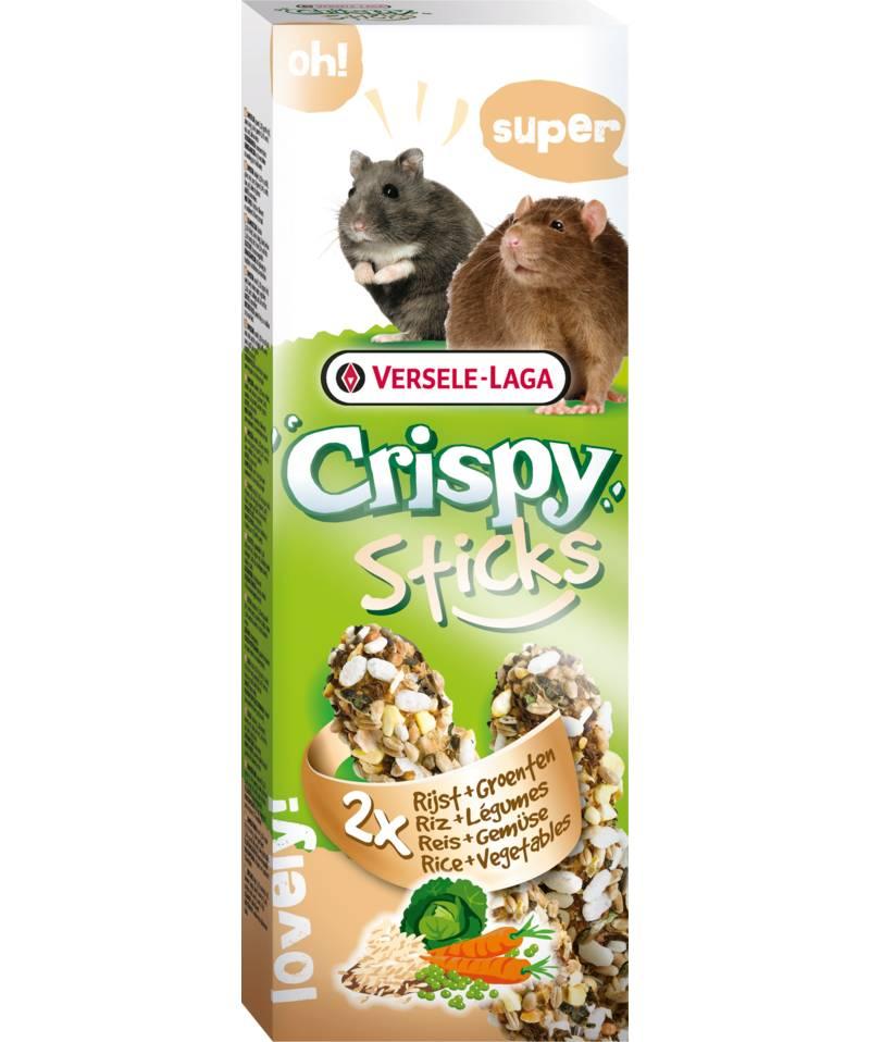 Versele-Laga Knusprige Sticks Hamster & Ratte Reis & Gemüse